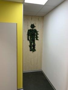 découpe portes ajourées en bois pour Ikéa Metz