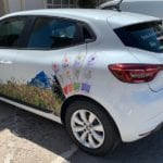 semi-covering-voiture logotage -habillage-adhesif-just