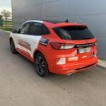 Covering de véhicule adhésif eurocom moselle metz lorraine
