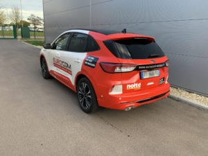 Covering de véhicule adhésif sticker marquage logotage decoration eurocom moselle metz lorraine