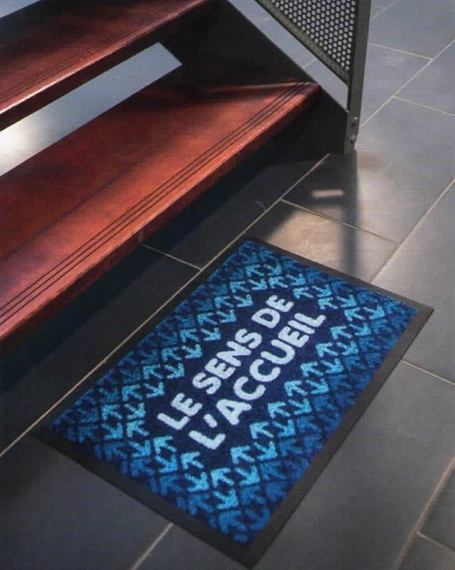 tapis-paillasson-personnalise-floque